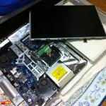iMac 24インチ(Early 2008)を分解してHDDを交換してみた