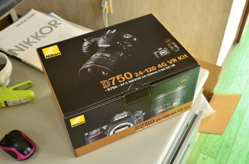Nikon D750 買っちゃいました