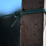 サビサビの柱