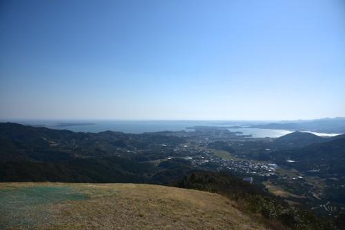 尉ヶ峰より浜名湖を眺めるよ