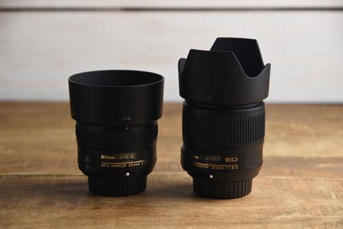 50mmと35mm