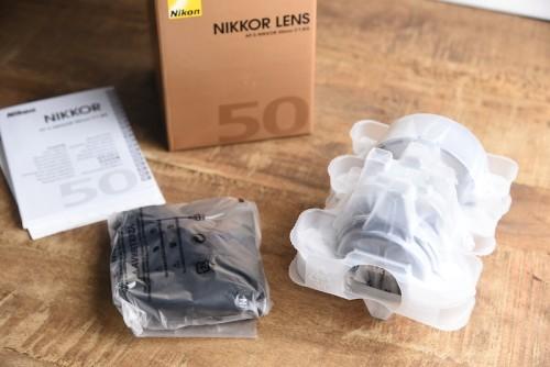Nikon AF-S NIKKOR 50mm f/1.8G 一式