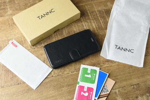 TANNC 手帳型iPhoneケースの付属品