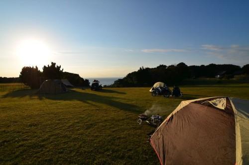 リゾート大島の朝