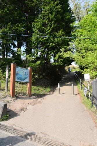 曽爾高原への入り口