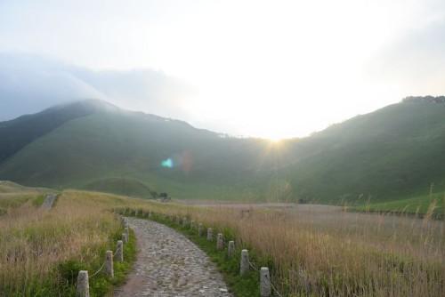 朝の曽爾高原