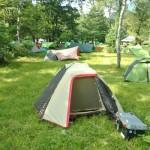平湯キャンプ場で1泊・岐阜県から出ぬ!キャンプツーリング