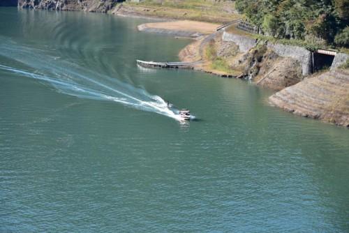 水上スキーをお楽しむ方を発見
