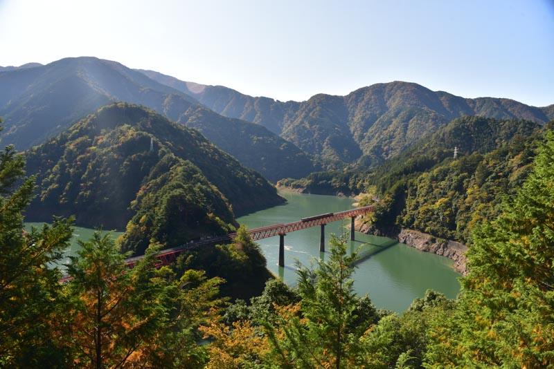 静岡県の秘境駅「奥大井湖上駅」にいってきたよ