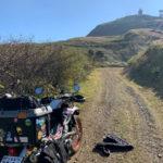 四国剣山スーパー林道とUFOラインを巡るキャンプツーリング 1日目