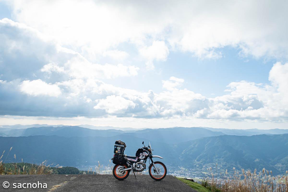 四国剣山スーパー林道とUFOラインを巡るキャンプツーリング 3日目(終)